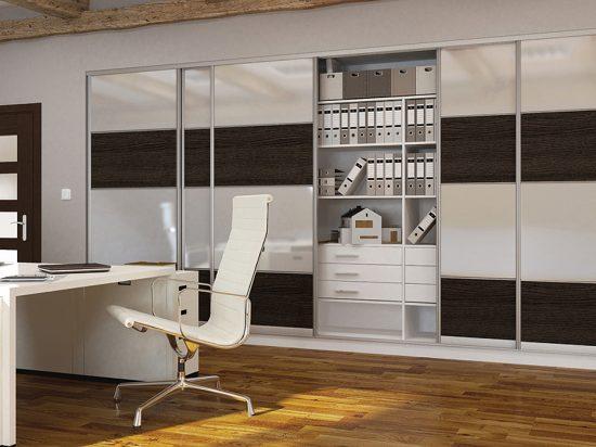 Ultra-white gloss panel& Hacienda Black