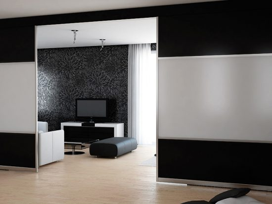 Black satin panel& Acid-etch mirror