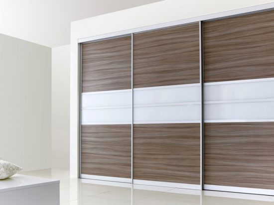 Driftwood Grey& Solid White interlayer-laminated glass