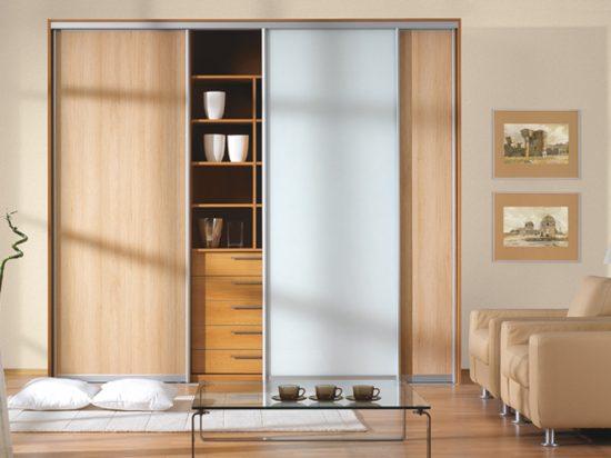 Hard Maple& Solid White interlayer-laminated glass
