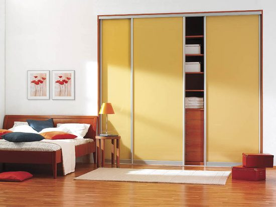 Soft Yellow interlayer-laminated glass