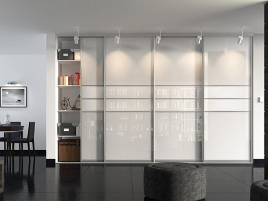 UV-treated Ultra-white gloss panel& Starphire low-iron glass