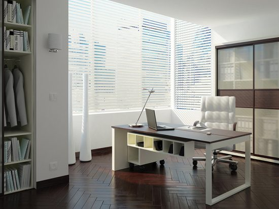 Milky White interlayer-laminated glass& Mocha panel