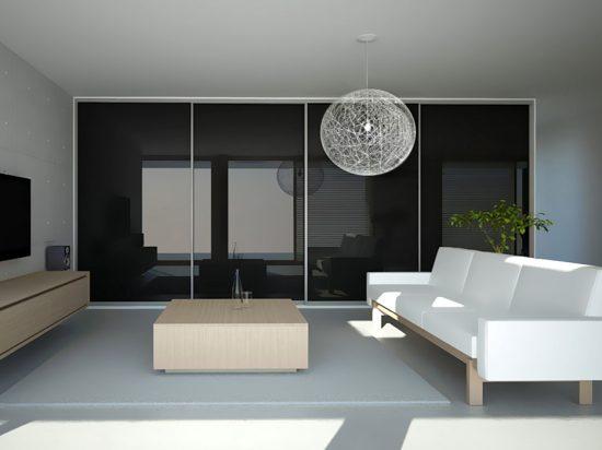 Onyx interlayer-laminated glass
