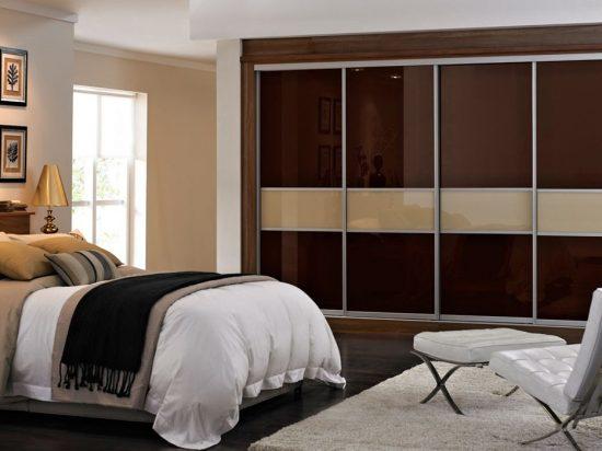 Brown/ Tan interlayer-laminated glass