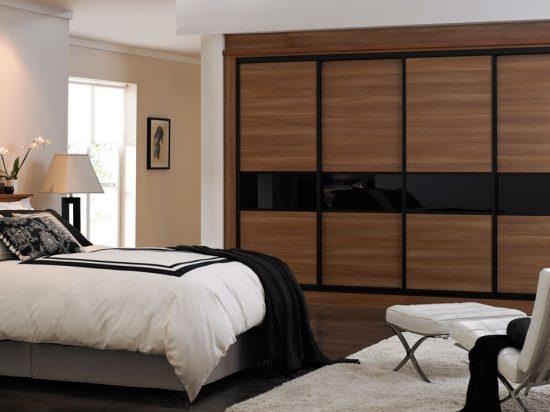 Walnut panels& Onyx interlayer-laminated glass
