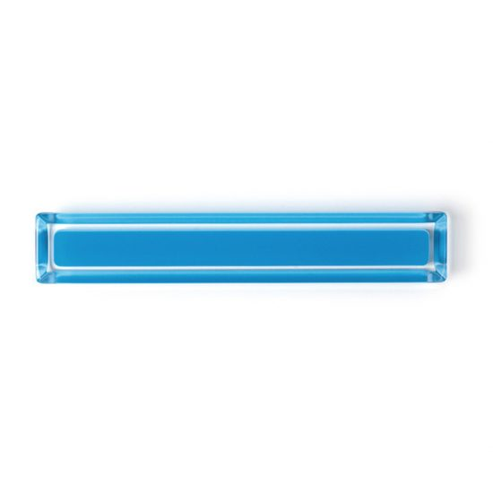 Blue Cuore Acrylic Pulls