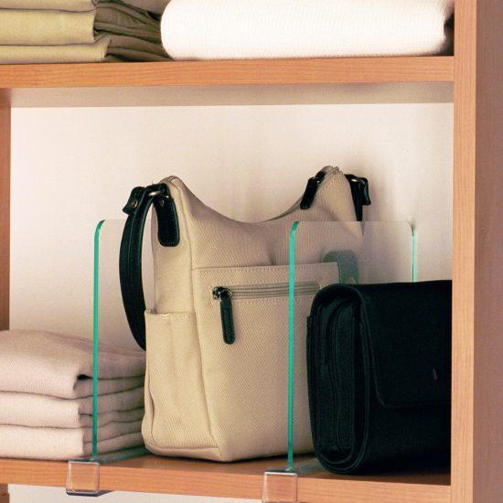 Closet Acrylic Shelf Dividers
