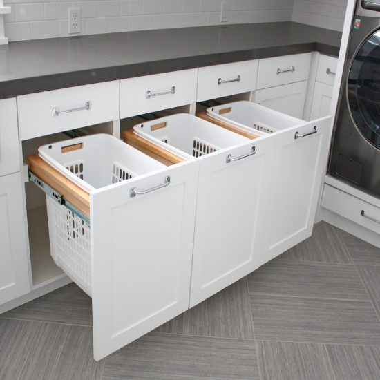 Laundry Pull-Out Hamper