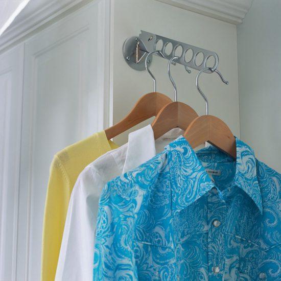 Laundry Room Valet Rod