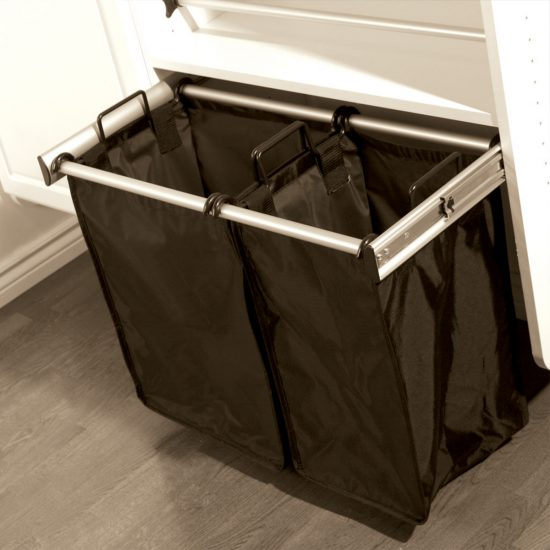 Pull-Out Hamper With Double Removable Bags
