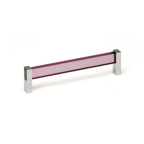 Tress Purple Glass and Chrome Pulls