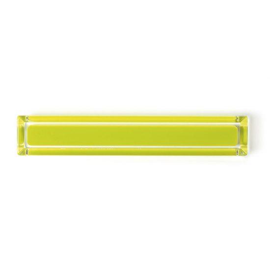 Yellow Cuore Acrylic Pulls