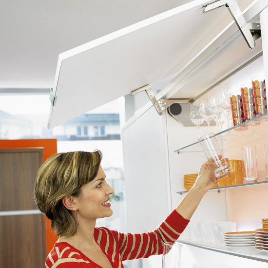 Aventos HS Swings Up & Over Doors System