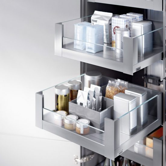 LegraBox Inner Pantry Glass Drawer