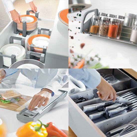 Orga Line Spices Plates Knife Foil Holder